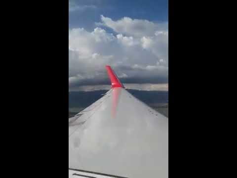 Air Canada Rouge Landing In Kingston, Jamaica