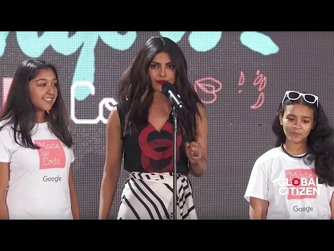 Global Citizen Priyanka Chopra Presents Google's Made w/Code & Ellie Goulding Anything Could Happen