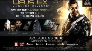 Deus Ex: Mankind Divided - Трейлер выхода