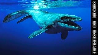 15 УЖАСАЮЩИХ ДОИСТОРИЧЕСКИХ МОРСКИХ ЧУДОВИЩ(Все живое вышло из моря. Ученые вычислили, что жизнь зародилась около 3,5 миллиардов лет назад, и только относ..., 2015-01-28T23:49:46.000Z)