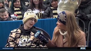 Tyler Trent Joins BTN Tailgate | Purdue | Big Ten Football