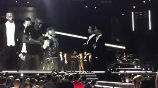 Madonna Unapologetic Bitch Berlin 10.11.2015 Idris Elba