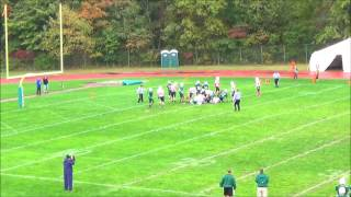 Westlake Ohio freshman team vs Berea 10-17-13 highlite #6
