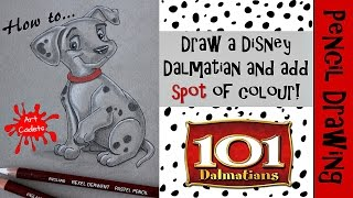 How to draw a Disney Dalmatian
