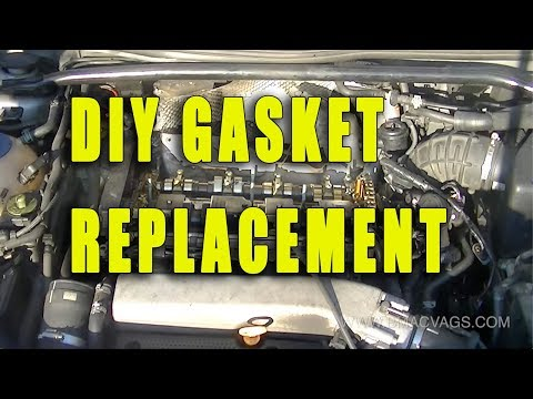 Audi 1.8T Rocker Timing Gasket Replacement DIY