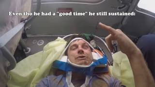 best near death experiences caught on tape accidents and crashes captured by gopro compilation
