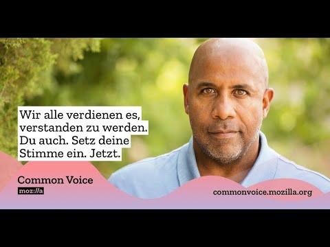 Common Voice: Setze deine Stimme ein, damit Technologie besser funktioniert. Für alle.