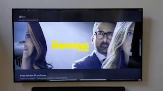 Official Apple TV app running on Amazon Fire TV Stick