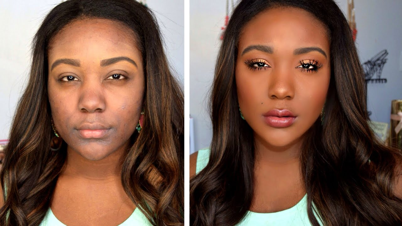 beauty tips for black women - HOW TO: Makeup Tips For Black Women - Everyday Makeup Tutorial ...