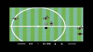 C 64 - Microprose Soccer, Oman team