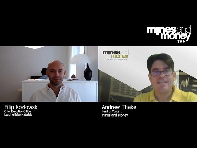 Mines and Money TV - Filip Kozlowski, CEO of Leading Edge Materials