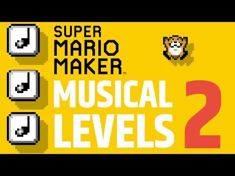Super Mario Maker Music Level - Top 5 Best -  Part 2