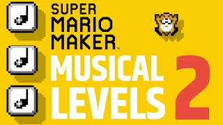 Super Mario Maker Music Level - Top 5 Best -  Part 2