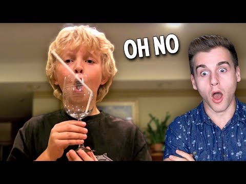 Boy Breaks Wine Glass With Just His Voice