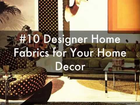 10 Decorating Tricks to Decor your Living Room with Home Fabrics