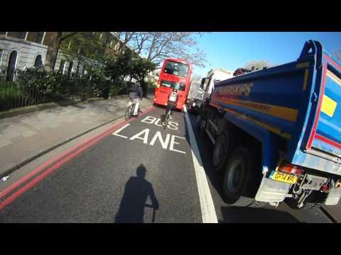 London Cycle Commute 2017-04-07 - AM