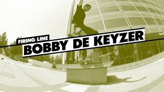 Firing Line: Bobby de Keyzer