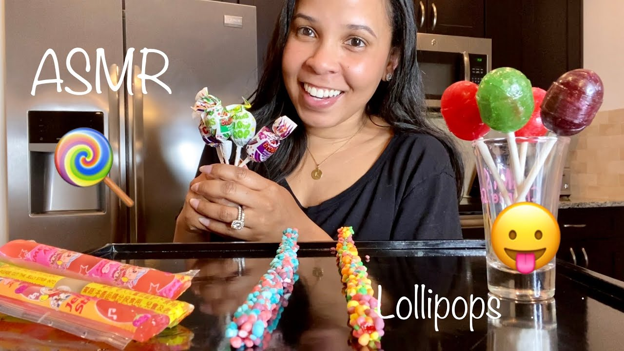 ASMR LOLLIPOP & GUM CHEWING | BLOWING BUBBLES ..NERD ROPE & JELLY STRAWS | MOUTH SOUNDS.. WHISPERING