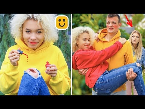 FUNNY FRIENDS PRANKS! Couple Pranks and DIY Hacks