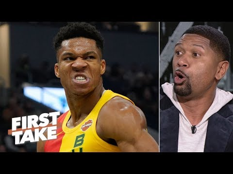 Giannis is better than James Harden, but isn't the MVP - Jalen Rose   First Take