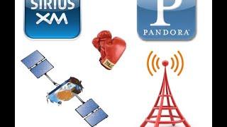 what do you use satellite radio vs pandora in the car