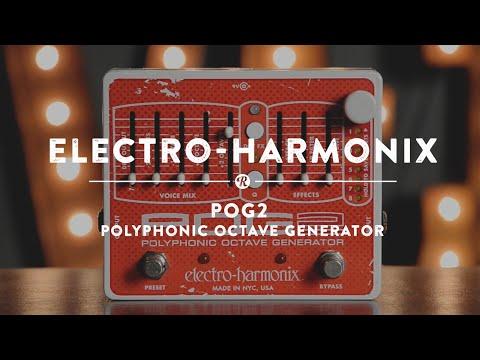 Electro-Harmonix POG 2 Polyphonic Octave Generator | Reverb Demo Video
