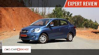 Honda Amaze | Expert Review | CarDekho.com
