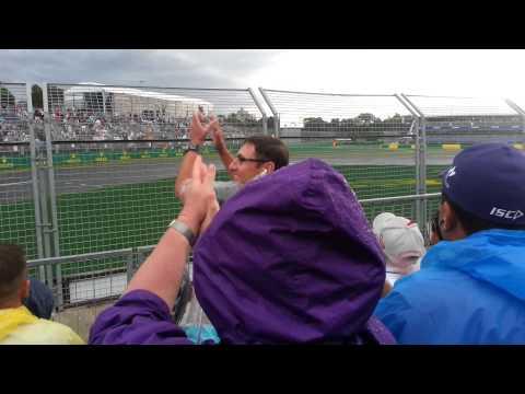 F1 2014 Australian Grand Prix - F1 Qualifying 3 Final Moments