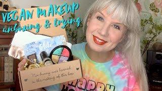 Vegan Makeup Unboxing + Trying FAIL
