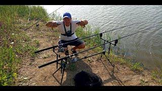 Рыбалка в Запорожье ! Карп,карась клюет все что хочешь