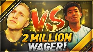 2 MILLION COIN WAGER!! MMG VS. KAYKAYES DRAFT CHAMPIONS!!