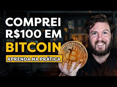 COMPREI 100 REAIS EM BITCOIN NA PRÁTICA   Investindo em BTC DO ZERO!