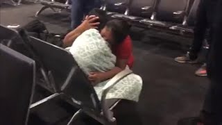 Guatemalan mom sobs while reuniting with 7-year-old son