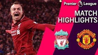 Liverpool v. Man United | PREMIER LEAGUE MATCH HIGHLIGHTS | 12/16/18 | NBC Sports