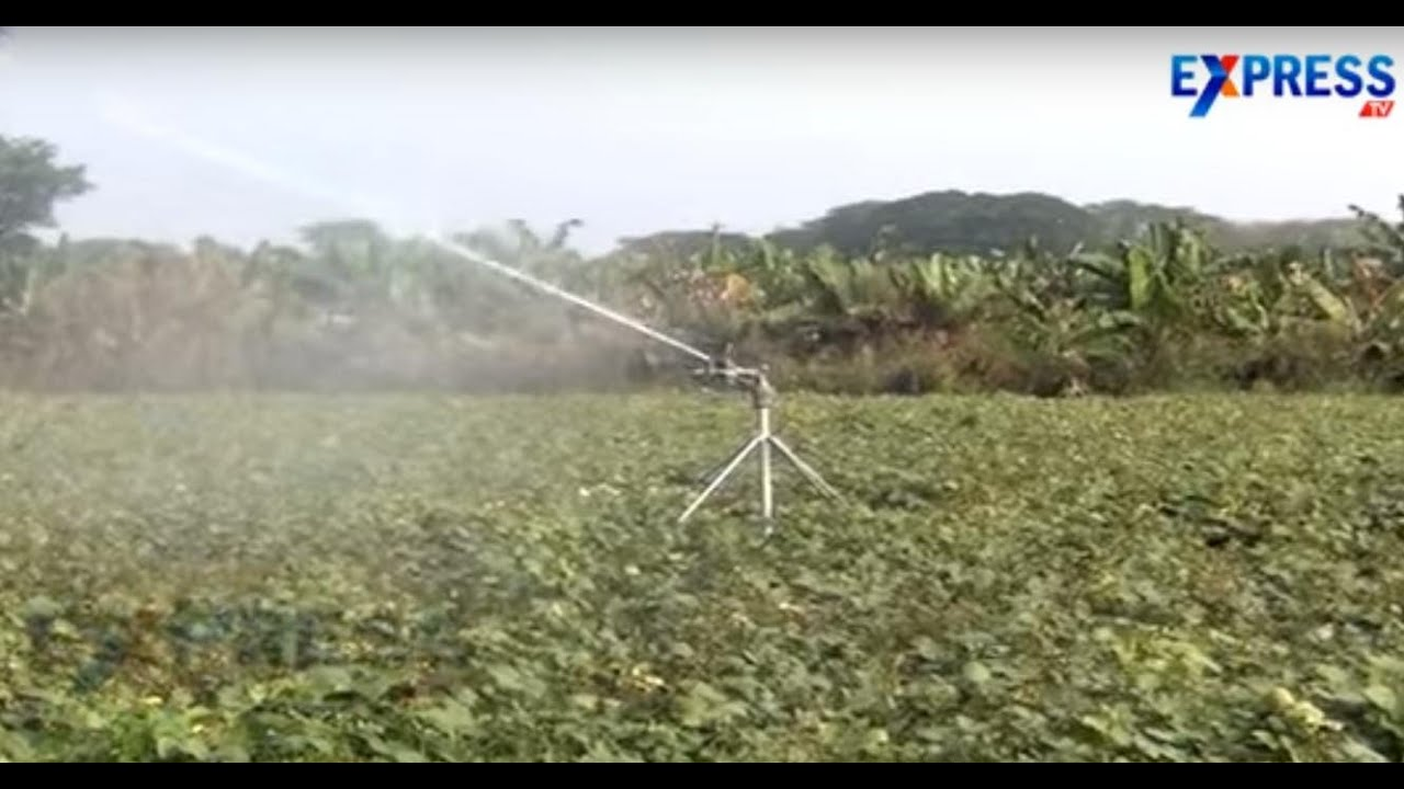 Rain Gun Irrigation system for crops - Express TV - YouTube
