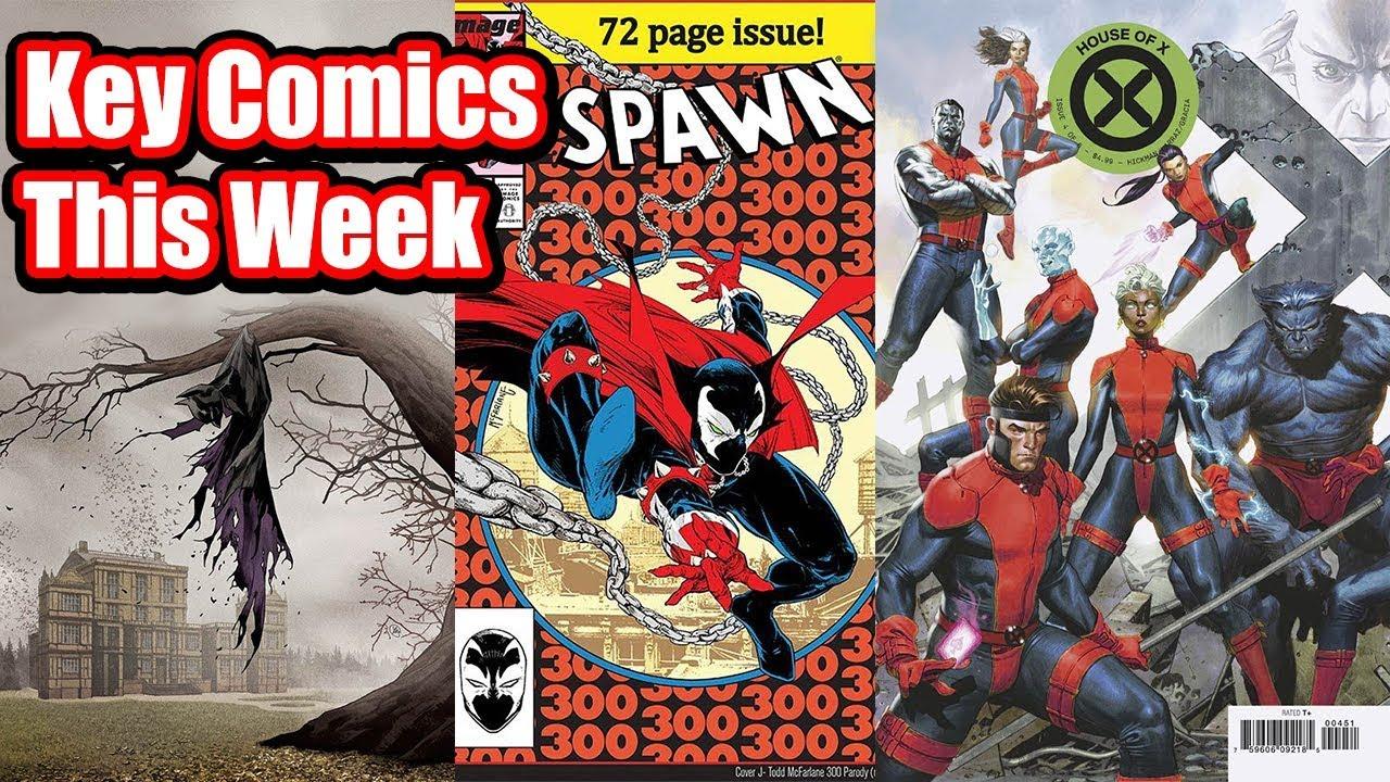 Affordable Key Comics dropping this week!!!   Hot New Keys dropping for  Week 35 (9/4/19)