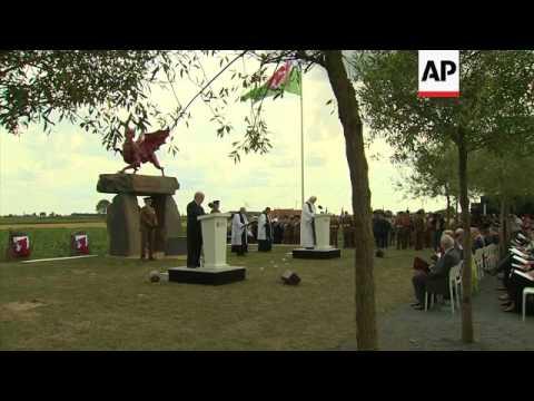 UK's Prince Charles visits Passchendaele memorials