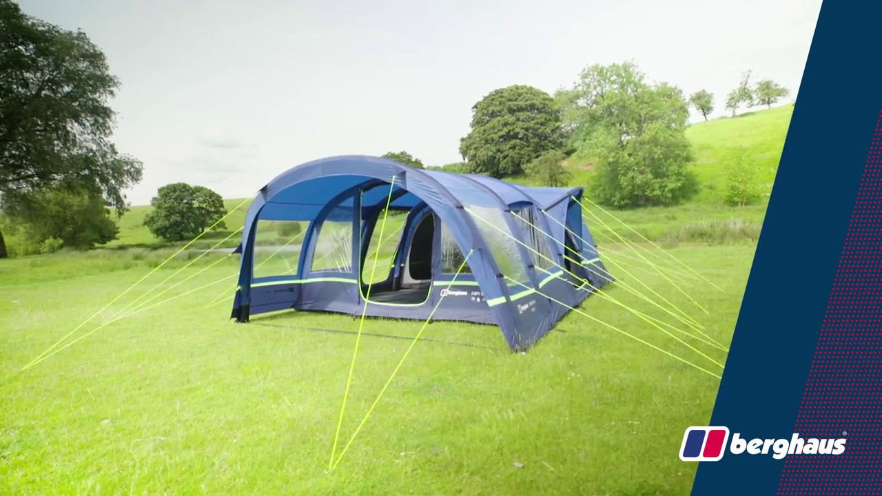 bb5acfcff7d Berghaus Air 6 XL Tent - YouTube