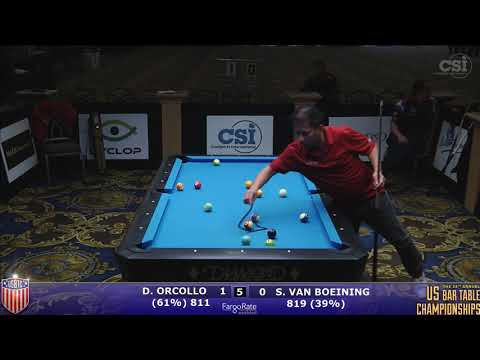 2017 US Bar Table Championships 8-Ball: Dennis Orcollo vs Shane Van Boening