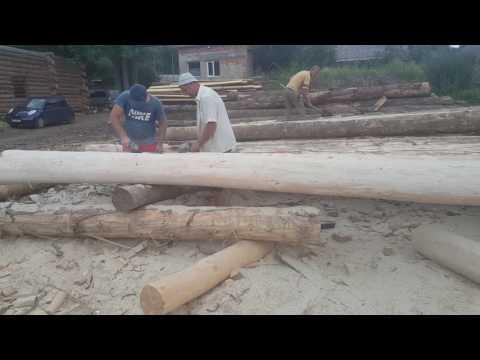 Строительство срубов в карпатах: дикий-сруб шлифованный и ошкуренный