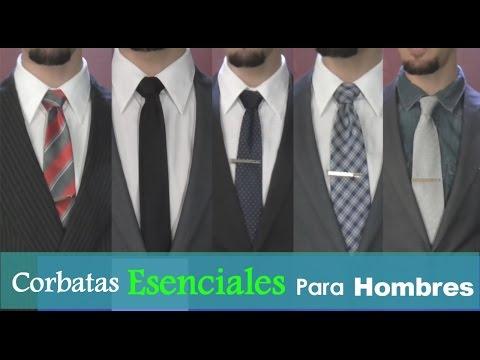 Tipos de corbatas para hombres youtube for Tipos de estanques para acuicultura