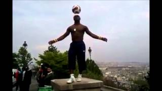 "Increible !!!! - Iya Traoré - "" 3d ""!!!  Sacre Coeure - París / This Guy Is Absolutely Incredible"