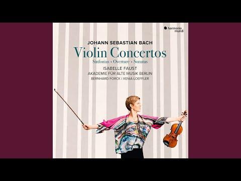 Violin Concerto In D Minor, BWV 1052R: I. Allegro