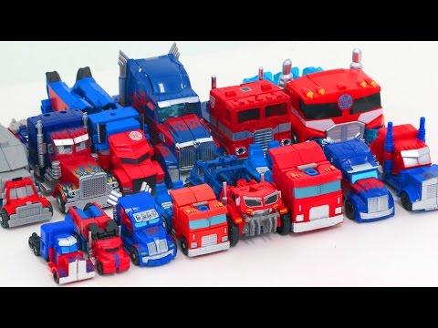 Transformers Mini & Deluxe Optimus Prime 14 Vehicles Truck Transformation Robot Car Toys