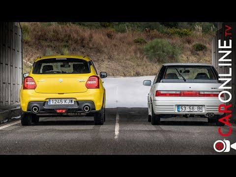 25 ANOS entre ELES | Suzuki Swift GTi vs Swift Sport 2018 [Review Portugal]