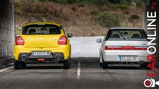 25 ANOS entre ELES | Suzuki Swift GTi vs Swift Sport 2018 [Review Portugal] Video