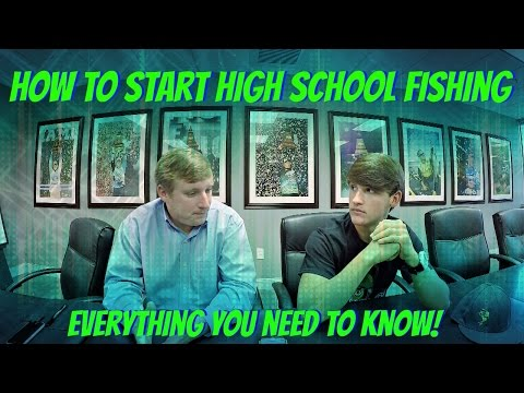 How To Start Fishing High School Tournaments ( How To Start A High School Fishing Club )