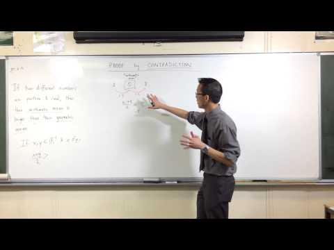 Proof by Contradiction: Arithmetic Mean & Geometric Mean