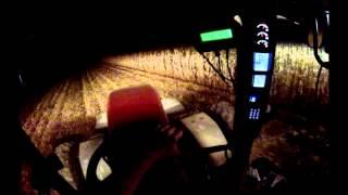 case ih 305 magnum john deere 9770 corn harvest 9 27 12