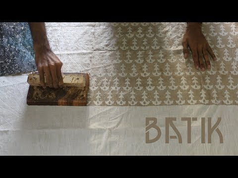 The story of the Batik art by Shakil Ahmed Khatri